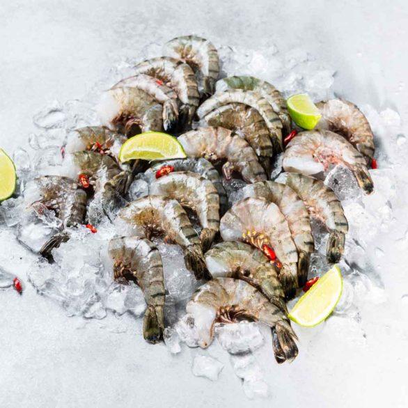Külmutatud krevetid