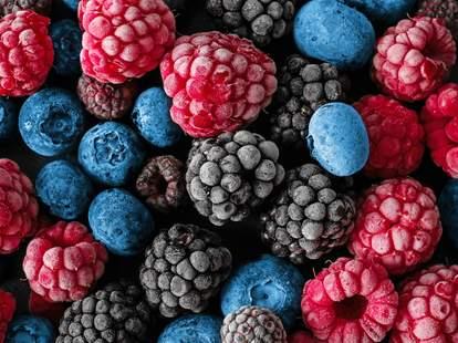 Külmutatud marjad ja puuviljad